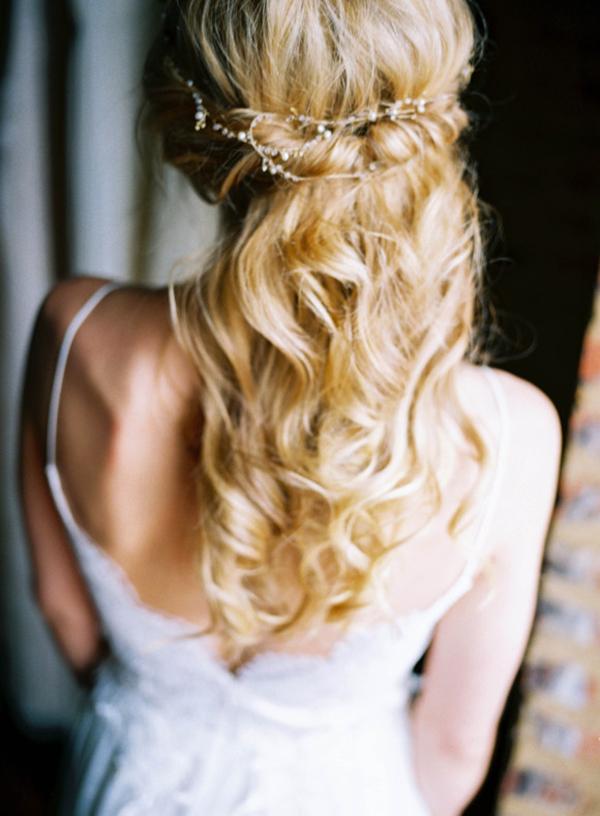 ce59dd5bb Ιδέες για νυφικά χτενίσματα με μακριά μαλλιά - EverAfter