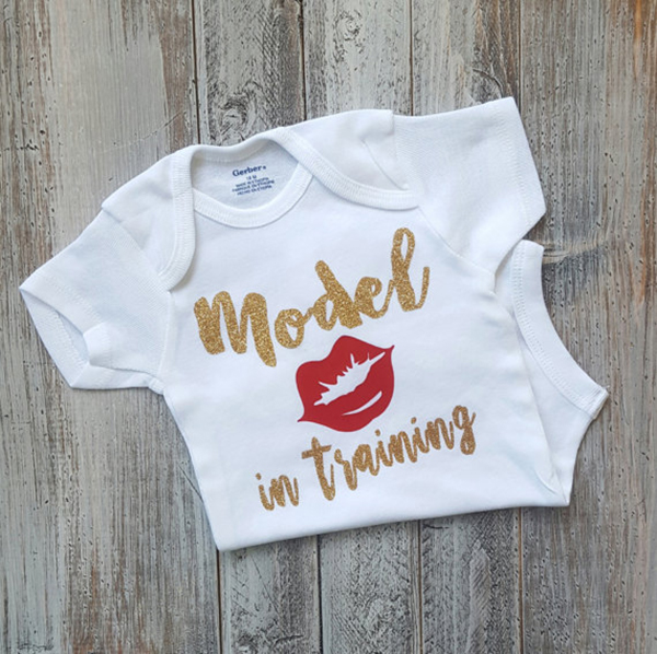 Cute baby girl onesie