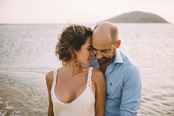 Όμορφη prewedding φωτογράφιση στη θάλασσα | Μαρίντα & Λεωνίδας