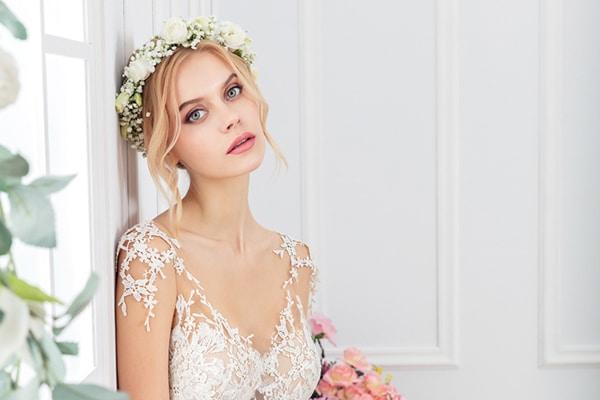 Luxurious νυφικά φορέματα Costantino Elysian Collection 2019