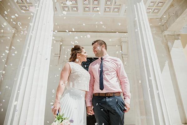 Ρομαντικός πολιτικός γάμος στην Πάφο