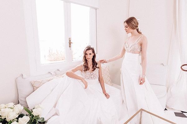 Ρομαντικά νυφικά φορέματα από Maison Renata Marmara