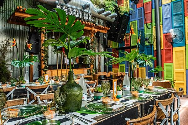 impressive-tropical-theme-boy-baptism-emerald-green-gold-hues_17
