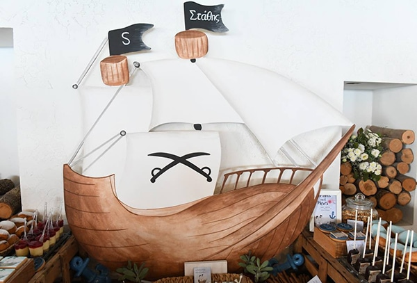 beautiful-rustic-boy-baptism-ideas-theme-pirates-_04