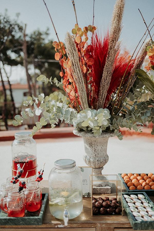beautiful-decoration-ideas-boy-baptism-eycalyptus-wheat-unique-flowers_02x