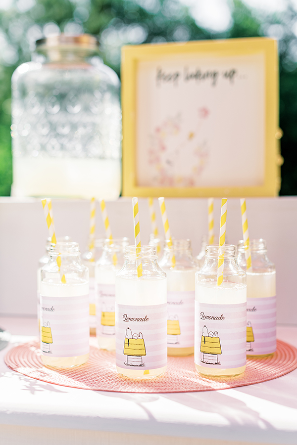 unique-girl-baptism-ideas-pink-yellow-hues-themed-snoopy_03x