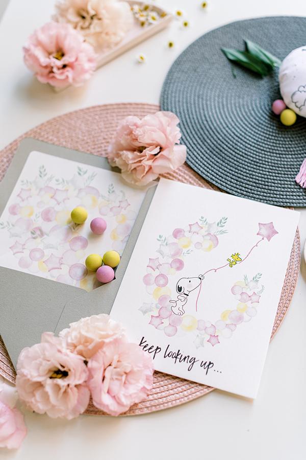 unique-girl-baptism-ideas-pink-yellow-hues-themed-snoopy_05
