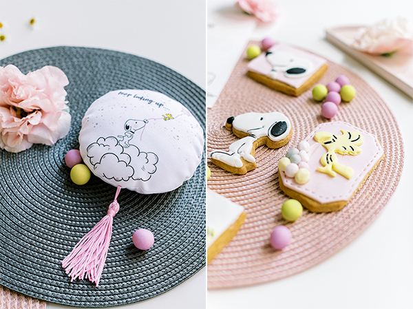 unique-girl-baptism-ideas-pink-yellow-hues-themed-snoopy_05A