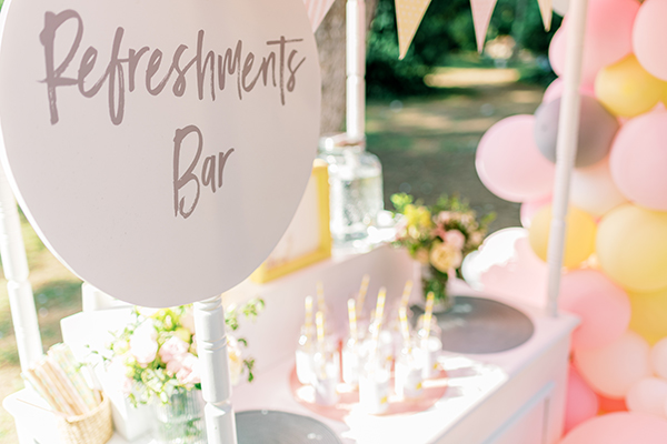 unique-girl-baptism-ideas-pink-yellow-hues-themed-snoopy_15