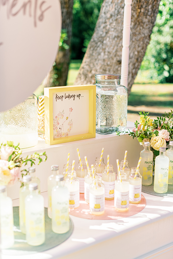 unique-girl-baptism-ideas-pink-yellow-hues-themed-snoopy_16