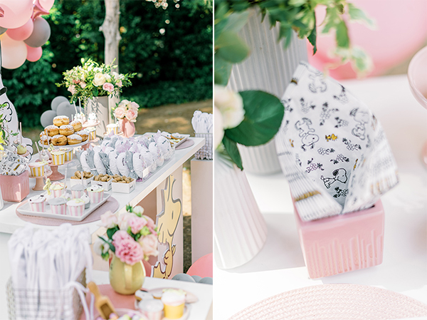 unique-girl-baptism-ideas-pink-yellow-hues-themed-snoopy_20A